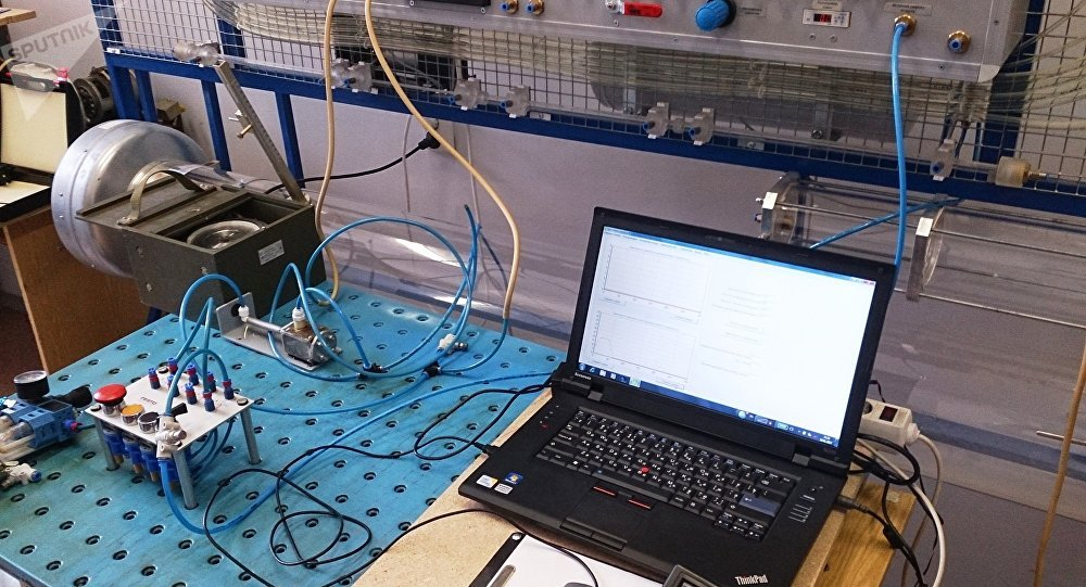 البحث في خصائص الصمام الثنائي أثناء إستخدام الهواء بصفته