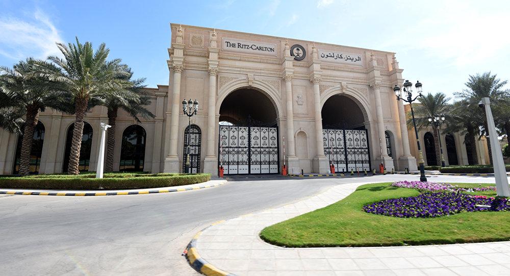 فندق ريتز كارلتن (Ritz Karlton) في الرياض، السعودية 5 نوفمبر/ تشرين الثاني 2017