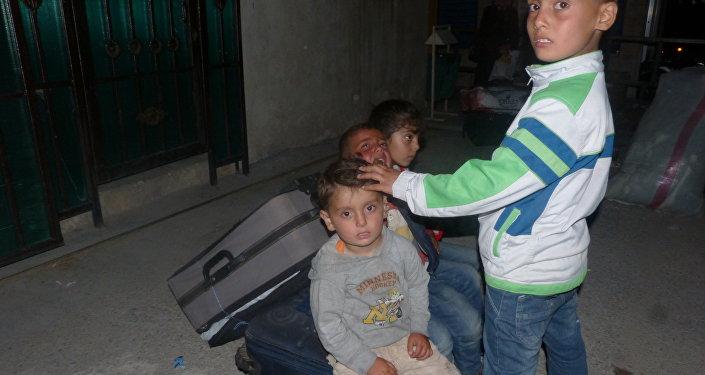 أطفال دير الزور