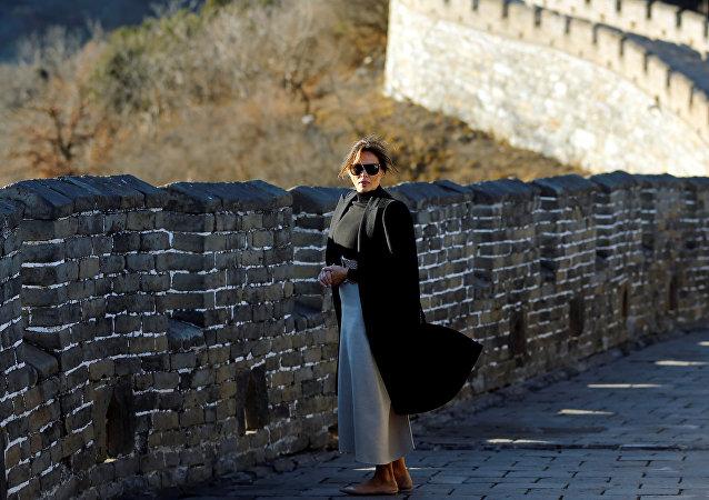 ميلانيا ترامب في الصين