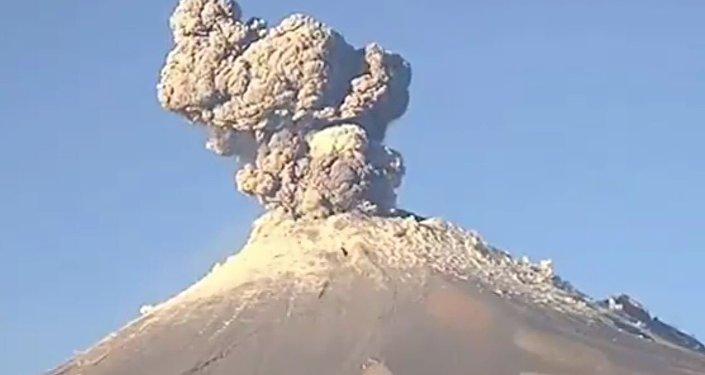 ثوران بركان بوبوكاتيبيتل