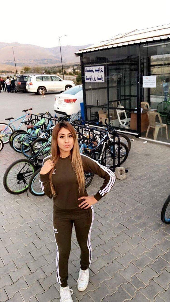 بطلة من جميلات كردستان العراق