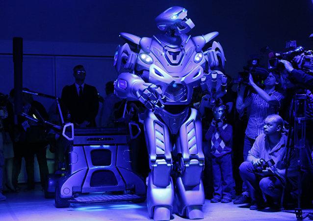 روبوت روسي