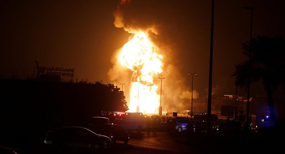 تفجير أنبوب نفط في البحرين