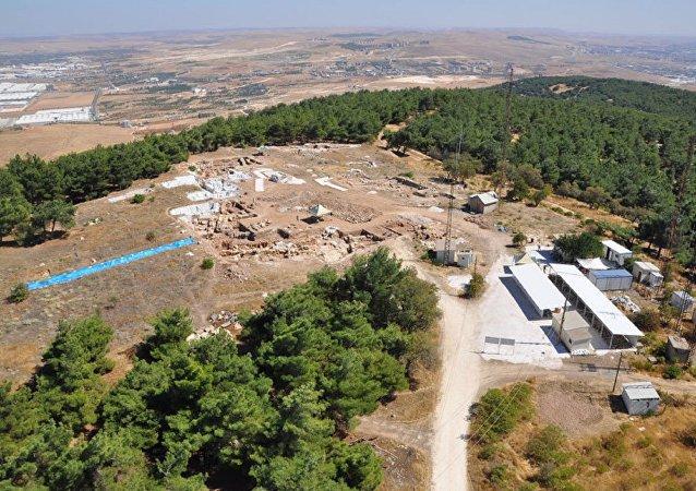 حفريات في بلدة قيصري في تركيا