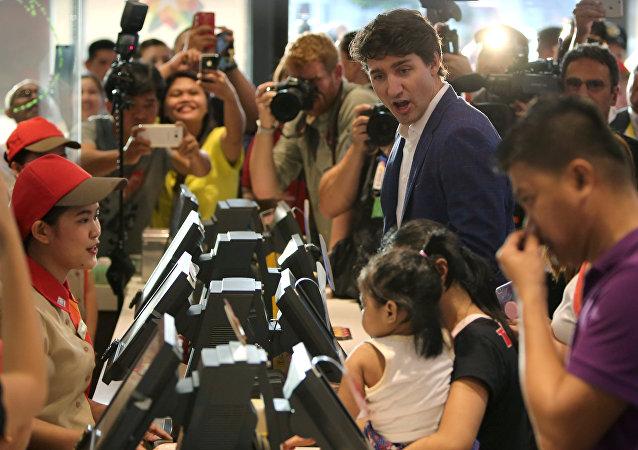 رئيس الوزراء الكندي، جاستن ترودو