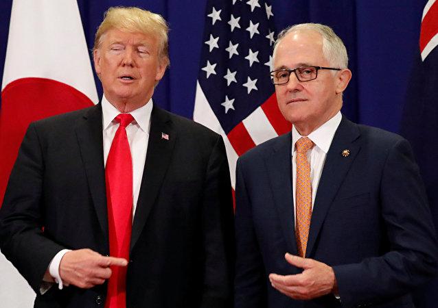 ترامب و رئيس الوزراء الأسترالي