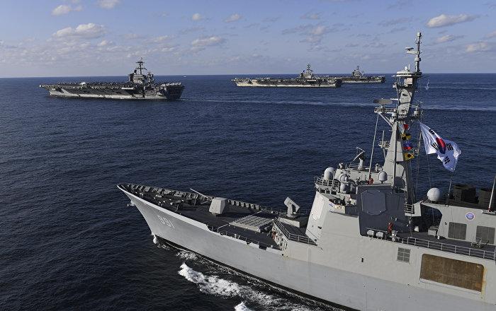 وسط حالة من التوتر مع اليابان.. كوريا الجنوبية تجري مناورات عسكرية