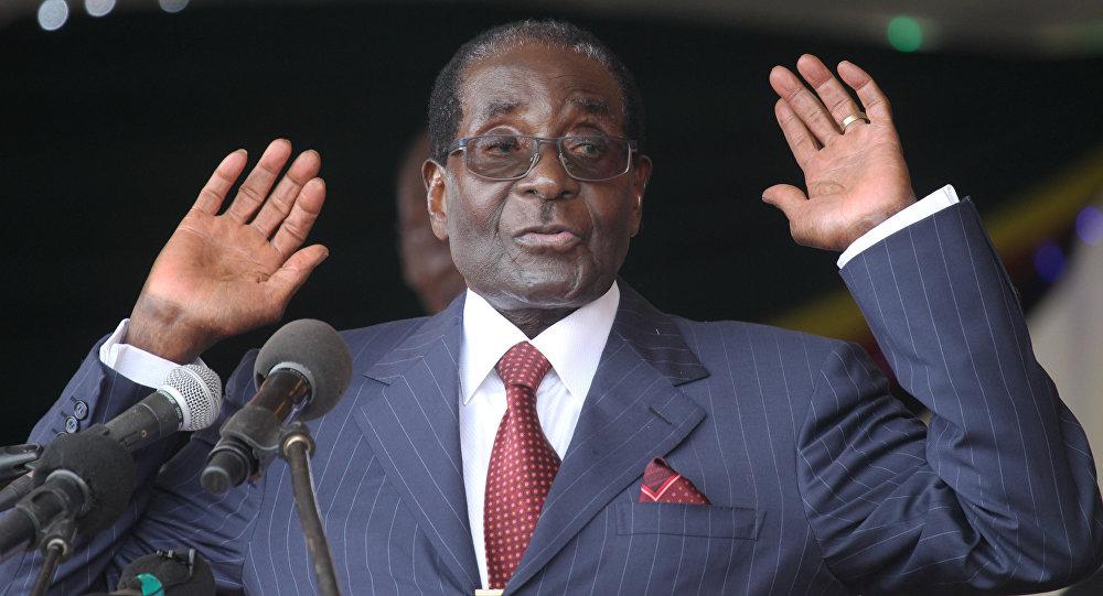 الرئيس الزيمبابوي روبرت موغابي