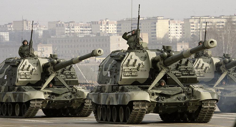 مدفع روسي ذاتي الحركة