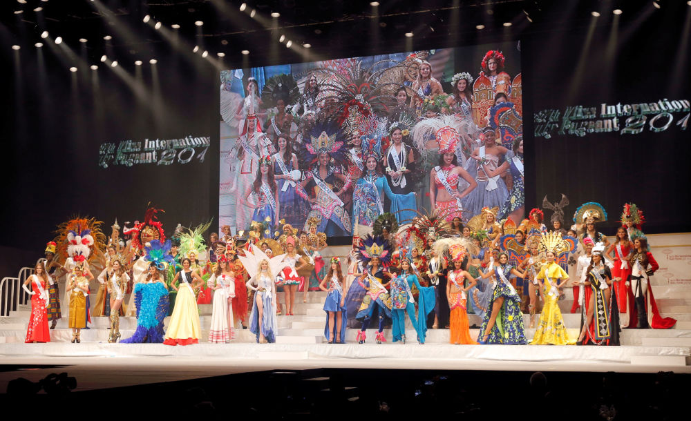 ملكة جمال ميس انترناشنال 2017 في طويكيو، اليابان 14 نوفمبر/ تشرين الثاني 2017