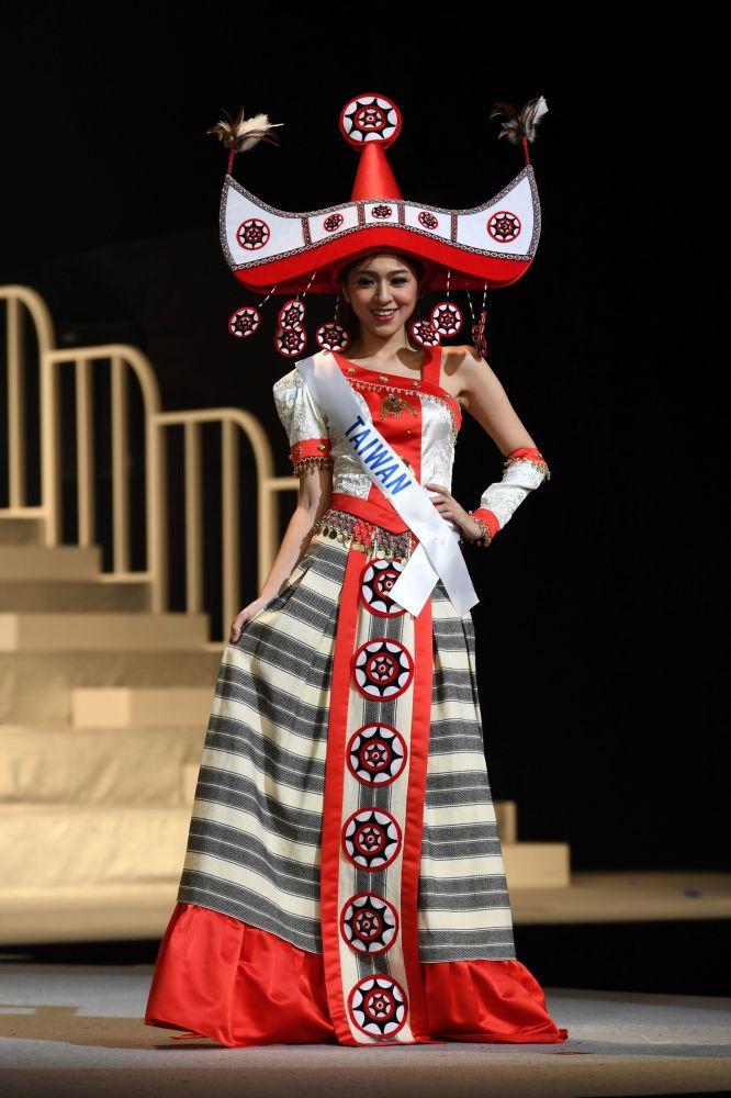 ملكة جمال ميس انترناشنال 2017 في طويكيو، اليابان 14 نوفمبر/ تشرين الثاني 2017 - ممثلة تايوان لينغ تزو هسيه