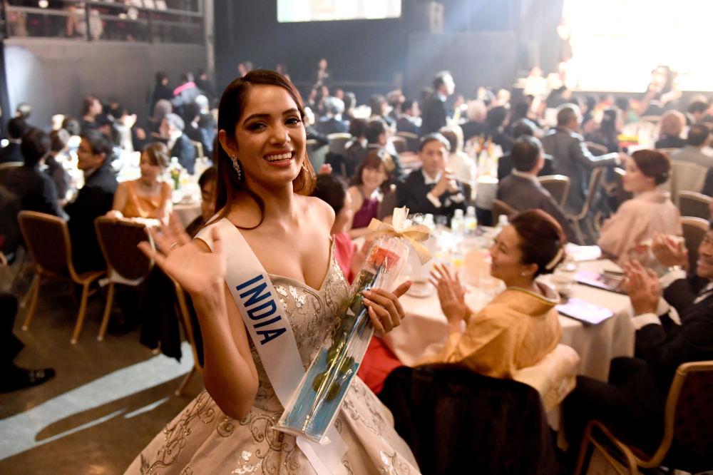 ملكة جمال ميس انترناشنال 2017 في طويكيو، اليابان 14 نوفمبر/ تشرين الثاني 2017 - ممثلة الهند أنكيتا كوماري