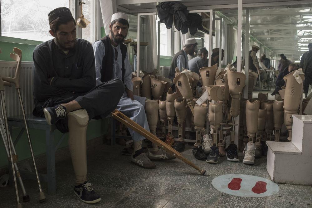 عيادة طب العظام في كابول، أفغانستان