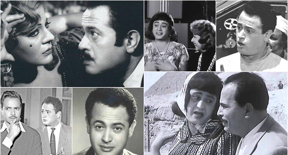 نجم الكوميديا عبد المنعم إبراهيم