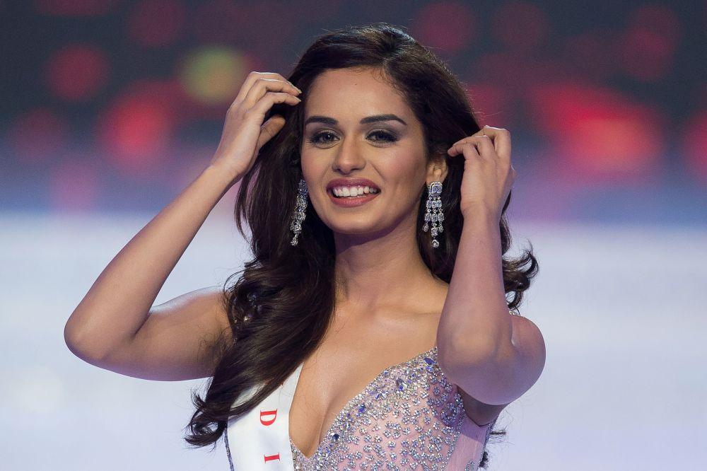 مسابقة ملكة جمال العالم 2017 في جزيرة هاينان في الصين - ممثلة الهند مانوشي تشخيلار الفائزة بلقب ملكة جمال عالم 2017