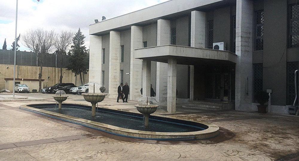 السفارة الروسية في دمشق، سوريا