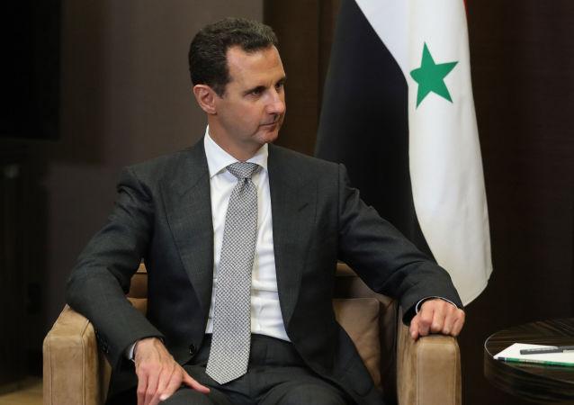 الرئيس السوري بشار الأسد في سوتشي