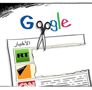 غوغل تتجه لفرض إجراءات تعرقل عمل سبوتنيك وRT