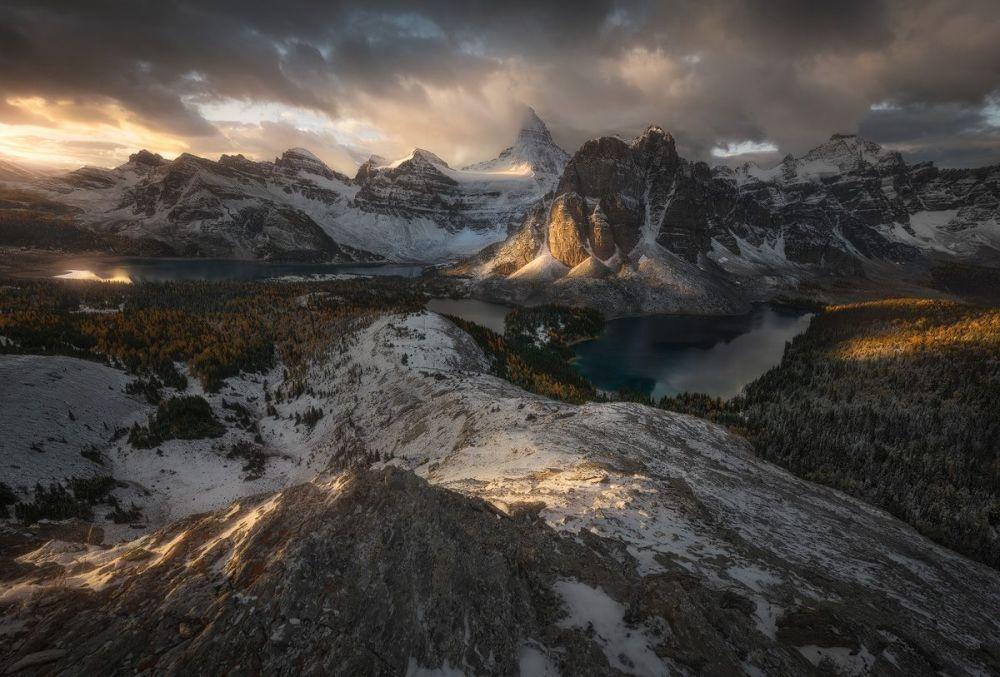 صورة بعنوان الأرض الوسطى للمصور إنريكو فوساتي، الحائزة على المرتبة الثالثة في فئة الرحلات والمغامرات