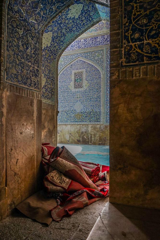 مسابقة التصوير التاريخي لهذا العام (Historic Photographer of the Year) - صورة بعنوان مسجد شاه، أصفهان، إيران، للمصور باميلا جونز