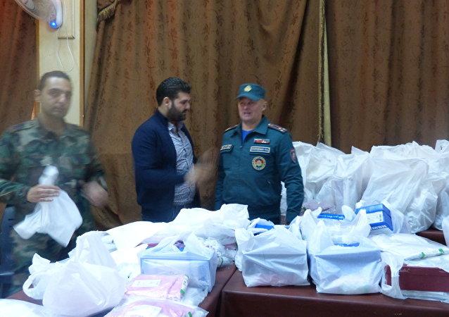 السفير البيلاروسي يلتقي الأطفال التضررين