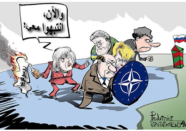 ماي تدعو إلى مواجهة روسيا المعادية