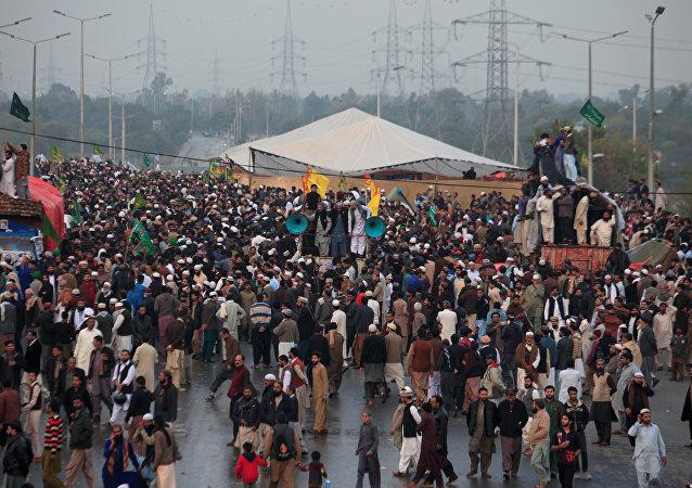اعتصام إسلام أباد
