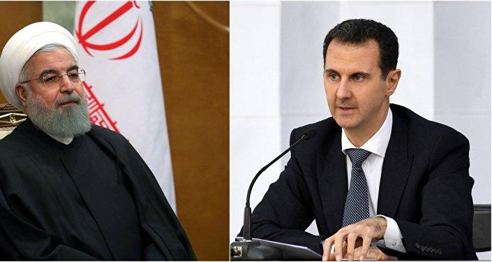 الأسد وروحاني