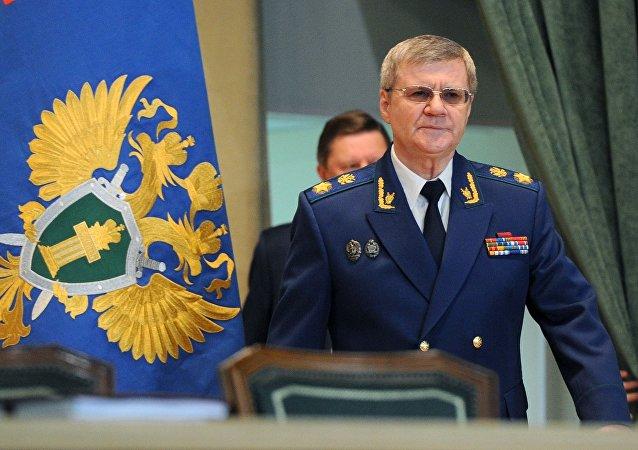 النائب العام الروسي يوري تشايكا