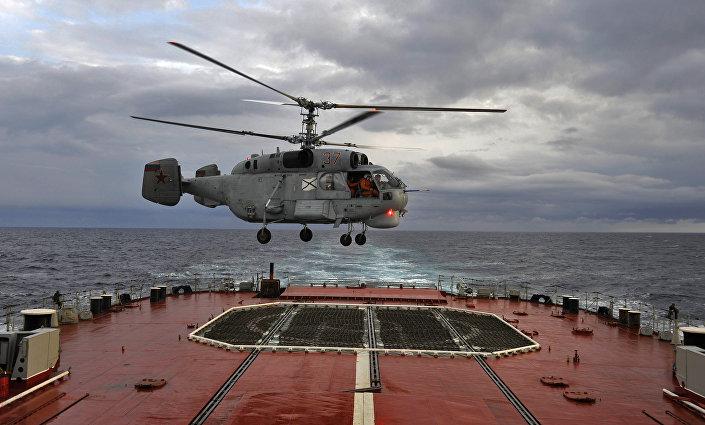 مروحية روسية من طراز كا-27. وتحمل نسختها التصديرية اسم كا-28