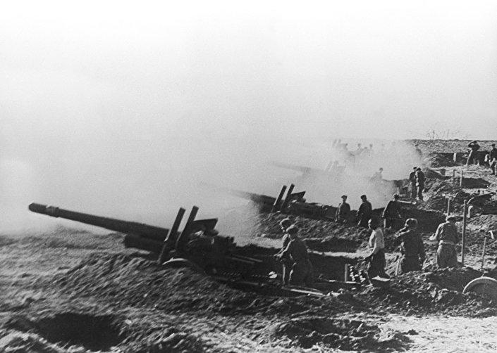 مدفعية الجيش الأحمر