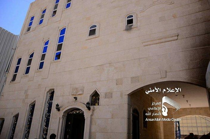 صور مزعومة لمنزل الرئيس اليمني علي عبد الله صالح في صنعاء