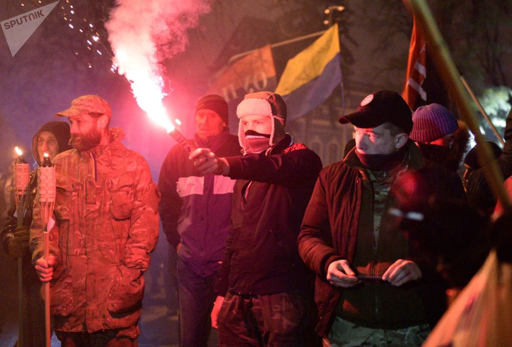 الذكرى السنوية لبدء الأحداث في ميدان، أوكرانيا