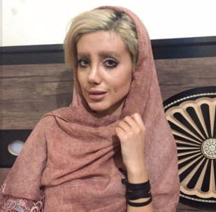 الإيرانية سحر تتحدث عن عملياتها التجميلية لتشابه جولي