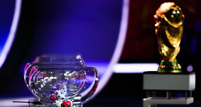 التحضيرات لقرعة كأس العالم 2018 في قصر الكرملين، موسكو
