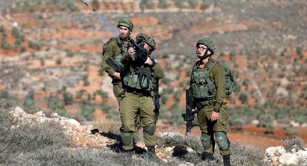 جنود إسرائليون خلال الاشتباكات في الضفة الغربية، 4 ديسمبر/ كانون الأول 2017