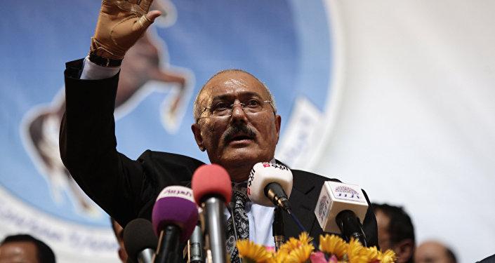 الرئيس اليمني السابق علي عبد الله صالح