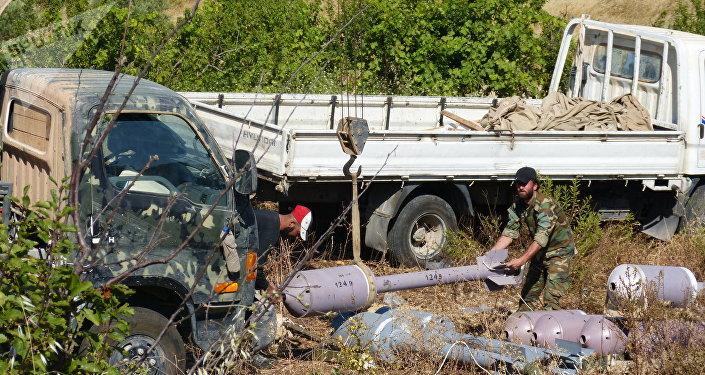 صواريخ في سوريا