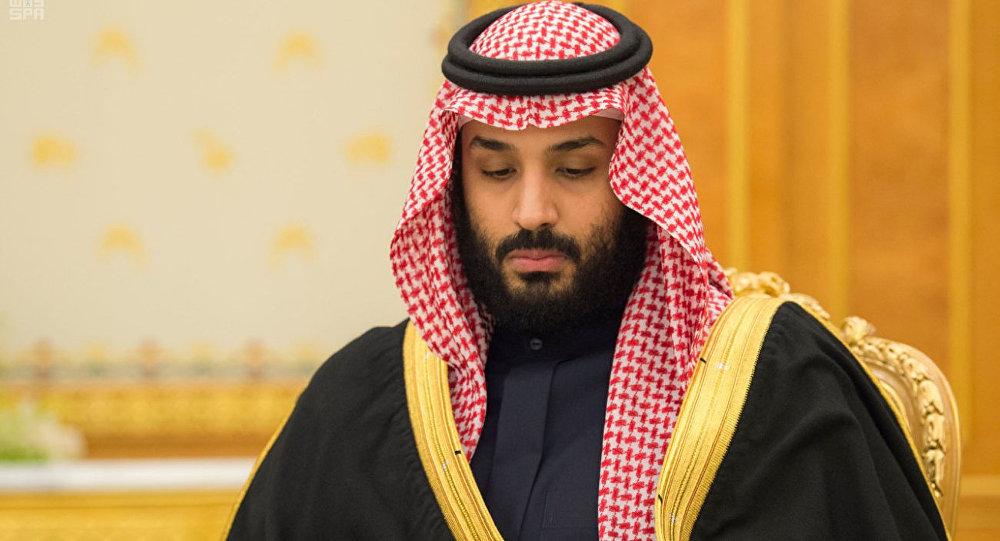 ولي العهد السعودي الأمير محمد بن سلمان خلال جسلة لمجلس الوزراء السعودي وأول تعليق بعد مقتل علي عبد الله صالح في الرياض، السعودية 5 ديسمبر/ كانون الأول 2017