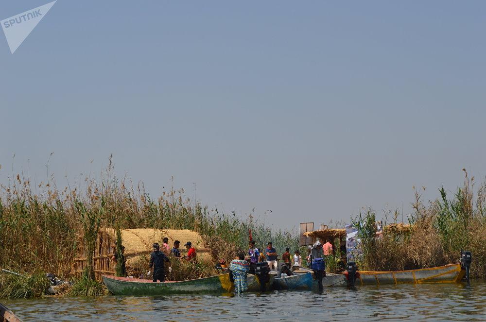 أهوار محافظة ميسان جنوبي العراق