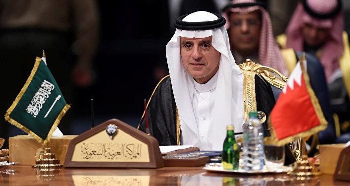 وزير الخارجية السعودية عادل الجبير في القمة الخليجية، الكويت 5 ديسمبر/ كانون الأول 2017