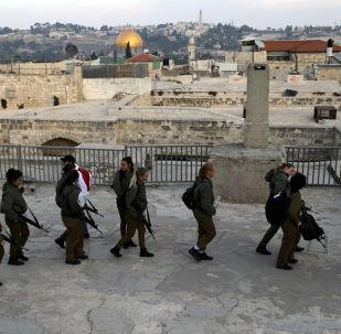 جنود إسرائيليون في مدينة القدس القديمة، 5 ديسمبر/ كانون الأول 2017