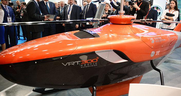 شركة مروحيات روسيا تعرض المروحية بدون طيار VRT300