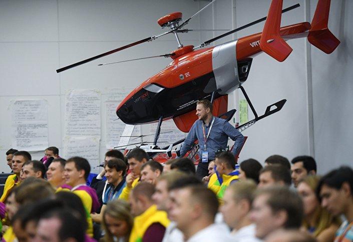 """شركة """"مروحيات روسيا"""" تعرض المروحية بدون طيار """"VRT300"""" 1028154856"""