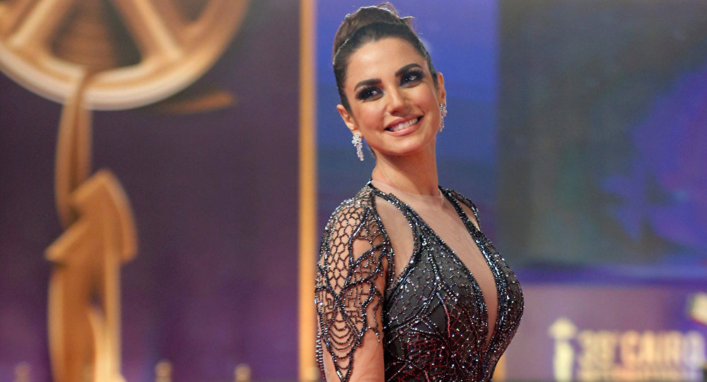 الممثلة المصرية درة زروق، خلال مهرجان القاهرة السينمائي الـ 39، مصر 21 نوفمبر/ كانون الأول 2017