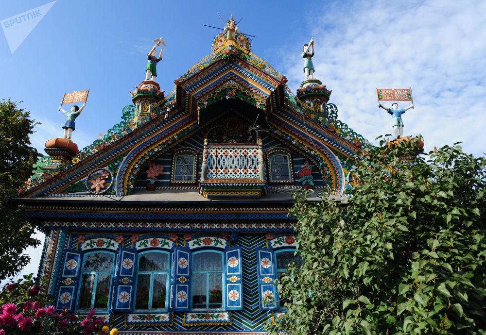منزل حداد سيرغي كيريلوف في قرية كونار من منطقة سفيردلوفسك