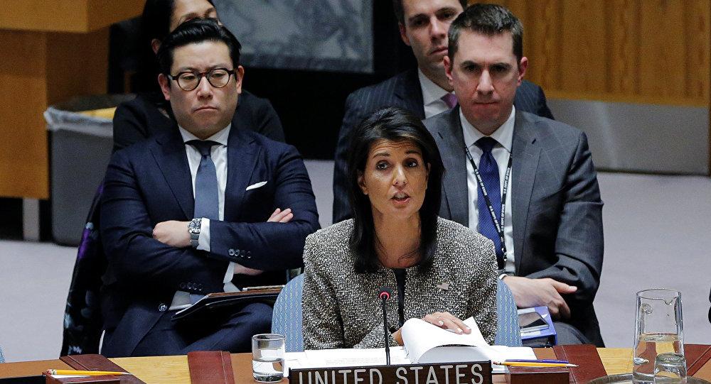 مندوبة واشنطن لدى مجلس الأمن