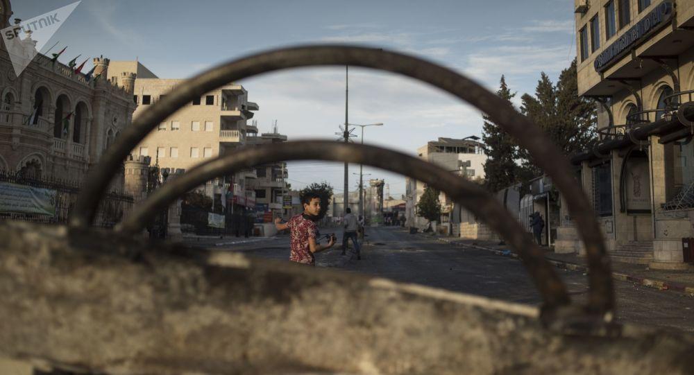 الوضع في بيت لحم، الضفة الغربية ديسمبر/ كانون الأول 2017