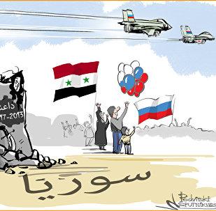 انتصار سوريا وروسيا على داعش